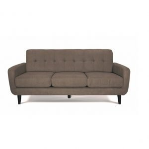 Balbo 3 seater sofa – camel fabric | Manor Interiors