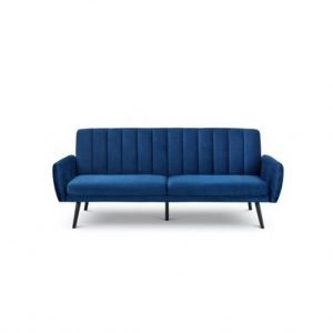 Bella Sofa bed - blue velvet | Manor Interiors
