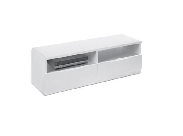 Bryony media unit - white | Manor Interiors