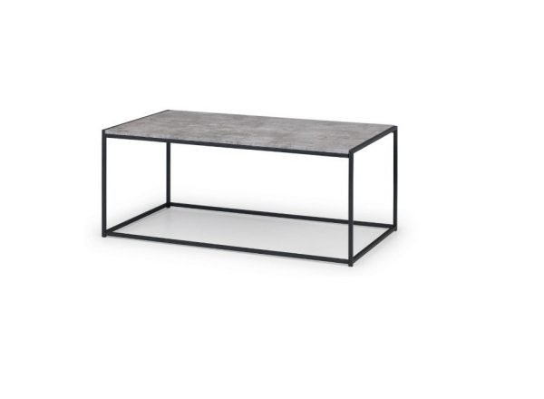 Collete coffee table - grey and black | Manor Interiors