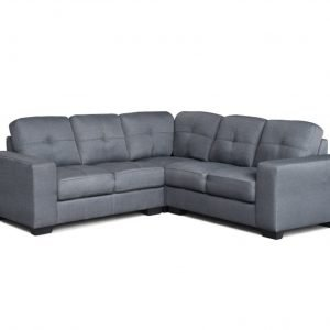 Enzo Corner Sofa - Grey | Manor Interiors