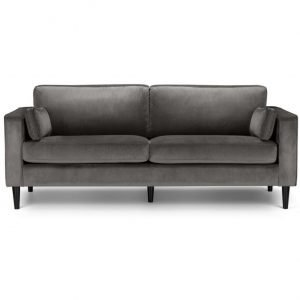 Howard 3 seater sofa - velvet | Manor Interiors