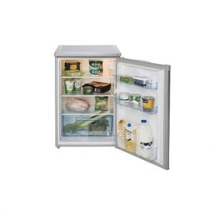 Lec under counter fridge - Silver | Manor Interiors