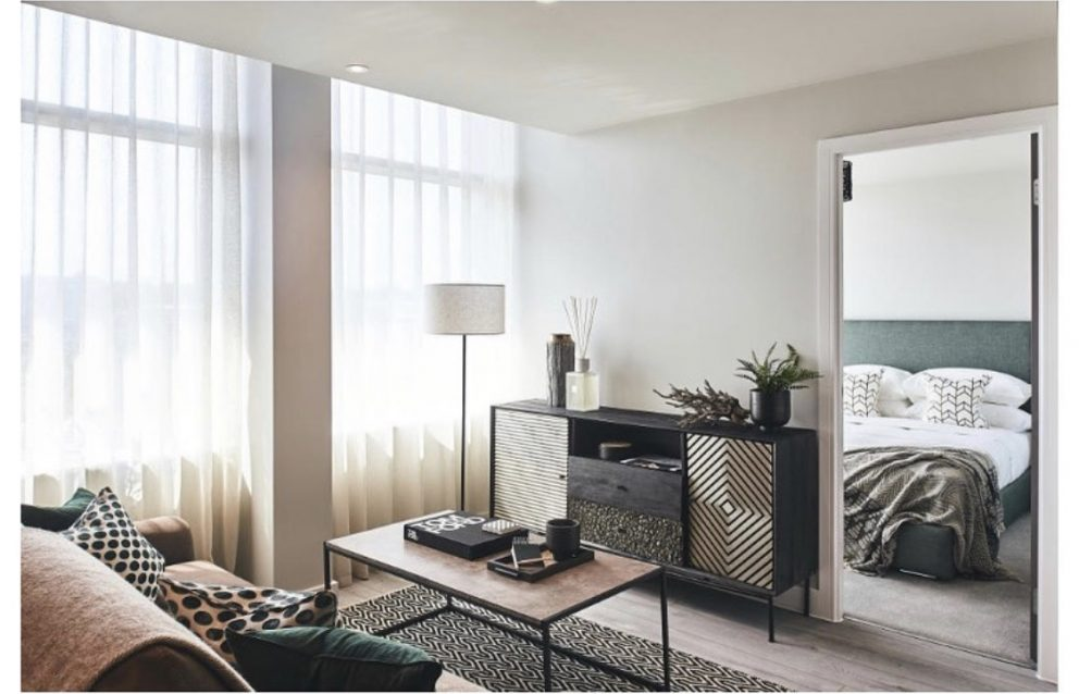Living room and bedroom furniture and staging | Manor Interiors