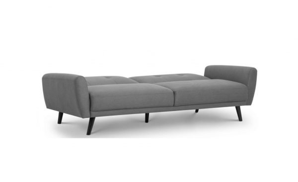 Mandy Sofa bed folded out - fabric | Manor Interiors