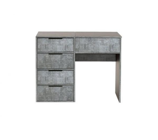 Milan dressing table - Pewter | Manor Interiors