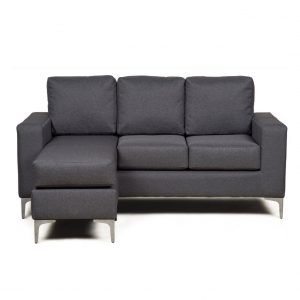 Monarch Corner Sofa – Grey | Manor Interiors