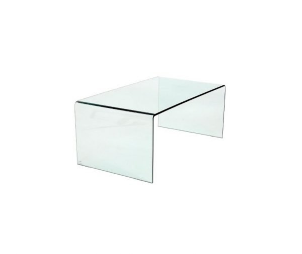 Nola coffee table - clear | Manor Interiors