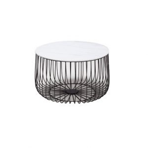 Paco Coffee Table - White and Black | Manor Interiors