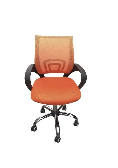 Rate office chair - orange | Manor Interiors