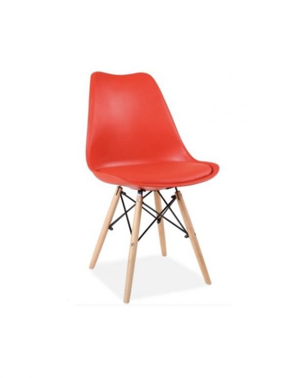 Red Louve Chair | Manor Interiors