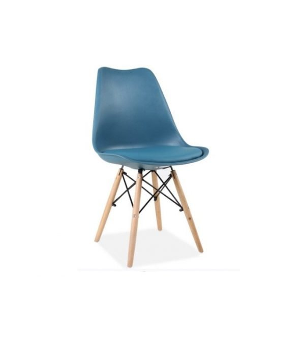 Turquoise Louve Chair | Manor Interiors