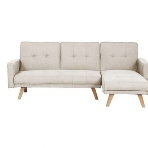 Tyson Sofa bed - beige fabric | Manor Interiors