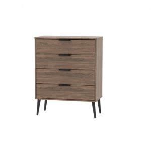 Xandu chest of drawers - walnut | Manor Interiors