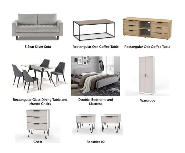 Oakwood furniture package products | Manor Interiors